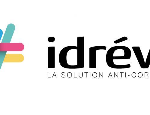 Présentation du nouveau logo idréva