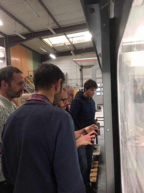 visite de l'atelier de production idréva