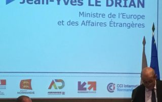 intervention ministre jean yves le drian