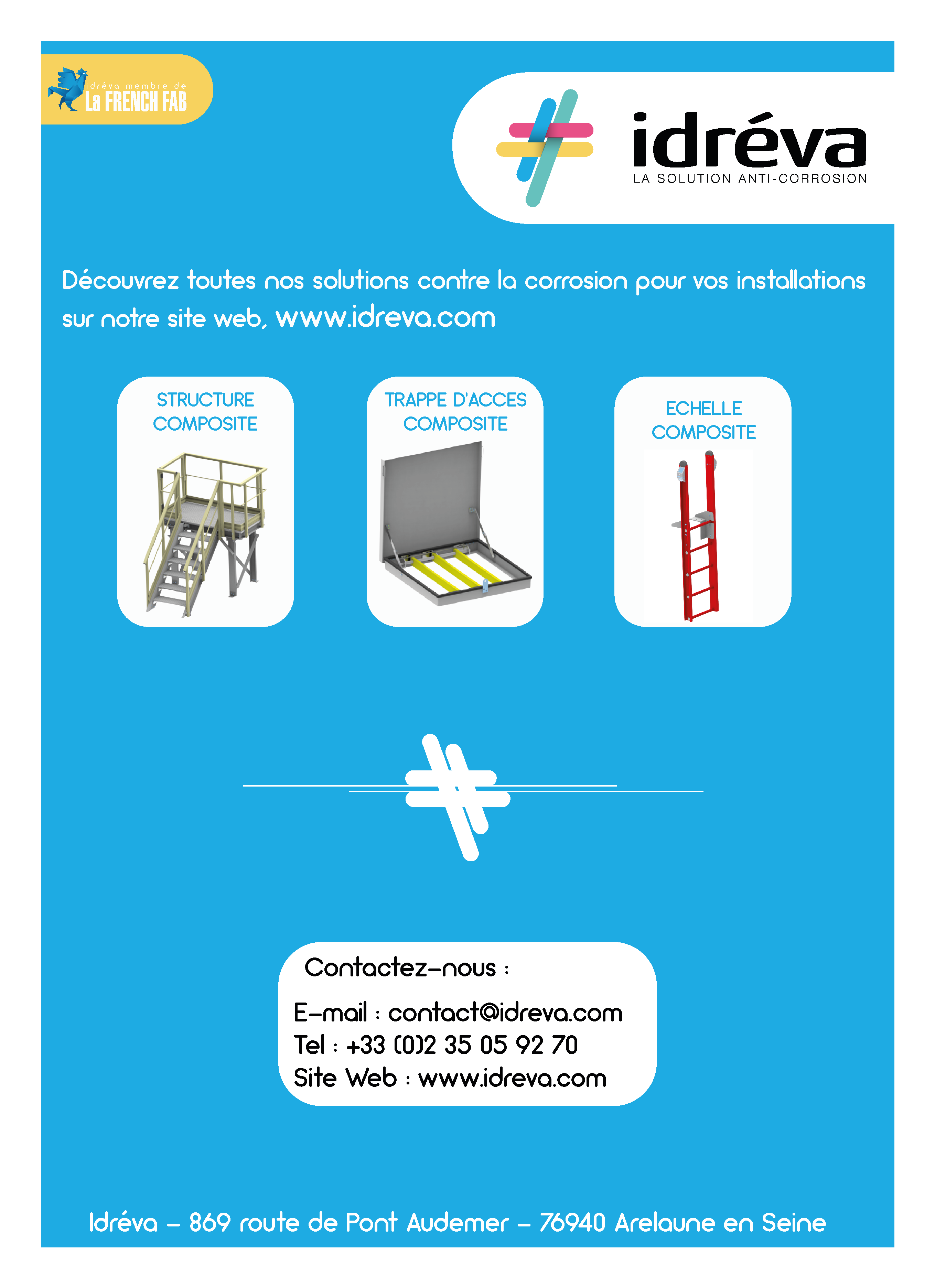 plaquette sea safe ladder idreva
