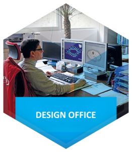 Design office and composite parts engineering