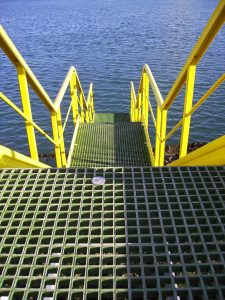 Composite grating and floors