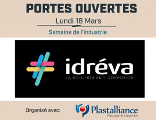 Portes ouvertes Idréva : Découverte de la plasturgie et des composites