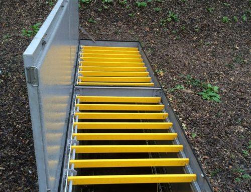 Fabrication de trappes d'accès en composite